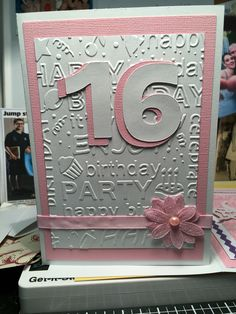 109 Best 16th Birthday Cards Images In 2019
