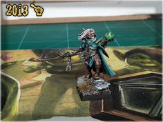 MORDHEIM AENUR SWORD OF TWILIGHT   Scar_hand Painting