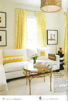 Sarah Richardson Chatelaine Living Room Tips Yellow With White Walls