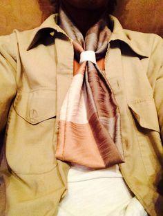 'Tie Me'® Adjustable Necktie 100% Cotton Scarf