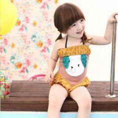 Harumi-BohYellow Swimsuit