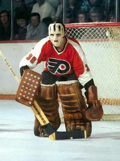 Bernie Parent   Philadelphia Flyers   NHL   Hockey
