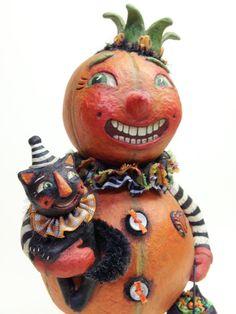 Halloween King an original art work OOAK by artist by AlyciasArt, $165.00