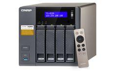 QTS-Linux Kombi-NAS mit 14-nm-Intel®-Celeron®-Quad-Core-Prozessor der neuen Generation und hardwarebeschleunigte AES-NI-Verschlüsselung