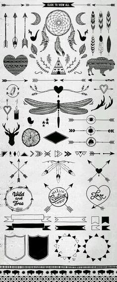 Hand Drawn SoNice Tribal Design Vector Pack on Creative Market: . - Hand D. - Hand Drawn SoNice Tribal Design Vector Pack on Creative Market: … – Hand Drawn SoNice Triba - Hand Logo, Irezumi Tattoos, Tribal Tattoos, Hand Tattoos, Tatoos, Tribal Logo, Tribal Drawings, Tribal Symbols, Celtic Tattoos