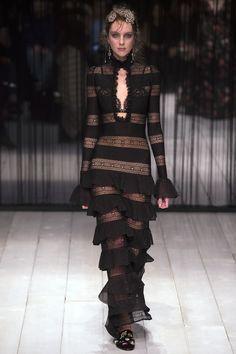 Alexander McQueen Fall 2016 Ready-to-Wear - Ugne Andrijauskaite- Reminiscent of Madame Vionnet