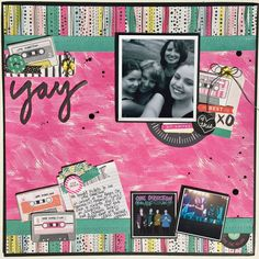 Basic Grey September Guest Designer - Kristine Davidson                                                                                                                                                                                 More