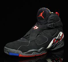 My first pair (1993)  Air Jordan 8 (VIII) Original (OG) - Playoffs  #sneakers