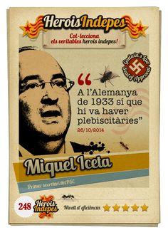 """#HeroisIndepes 248. Miquel Iceta: """"A l'Alemanya de 1933 sí que hi va haver plebiscitàries"""""""