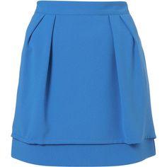 Layered Peplum Skirt (220 CNY) found on Polyvore peplum skirts 裙裙 20121212