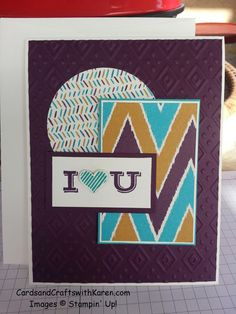 FMS189 - Freshly Made Sketches, made with Boho Chic embossing folder & Bohemian DSP by Stampin Up