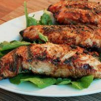 These grilled turkey tenderloins are light and easy. A sweet and hot pepper jelly marinade flavors is also used to baste the turkey on the grill. Turkey Tenderloin Recipes, Turkey Chops, Turkey Recipes, Meat Recipes, Slow Cooker Recipes, Crockpot Meals, Quick Recipes, Recipies, Dinner Recipes