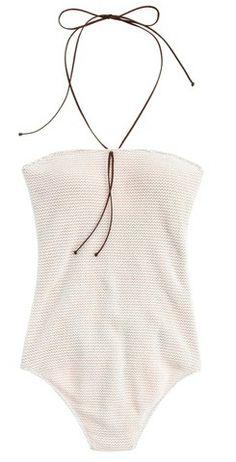 undrest, cozumel strapless maillot, swimsuit