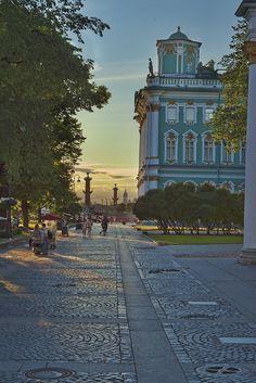 Hermitage Museum, Saint Petersburg by Eric Esquivel