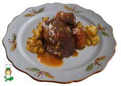 Cocina con Amparo Lozano y Thermomix - Carrilleras de cerdo estofadas con patatas