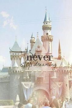 Never give up on your dreams, no matter how far away it seems! If someone could do it, why can't you?