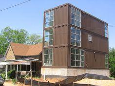 shipping container house Prefab.ARQuitetura modular www.prefab.arq.br