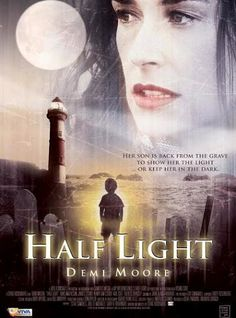 Demi Moore in the movie Half Light.  Really good psychological thriller set in an island in Scotland.