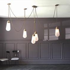 CHIC. Custom LARIAT Installation in this elegant room by Alyson Sugar.
