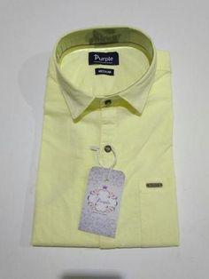 edae873b0 Men s  Cotton Casual Wear  Shirt Lemon Yellow From Zinnga..!!!   zinngashirts  menswear  cottonshirts  plainshirts  menfashions   formalshirts Click Here