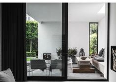 'Minimal Interior Design Inspiration' is a weekly showcase of some of the most perfectly minimal interior design examples that we've found around the web - all Interior Design Examples, Interior Design Inspiration, Inspiration Boards, Design Exterior, Interior And Exterior, Minimalism Living, Home Fashion, Interior Architecture, Scandinavian Architecture