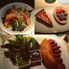 It's JOMA-Time again @Matteo Metz #joma #yummy #delicoius #steaksandwich #newyorkcheesecake #tataki #salmon #friends #instagood #vienna #hohermarkt #goodlife by medstudvie