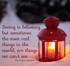 Seeing is believing, but sometimes the most real things in the world, are things we can't see. - The Polar Express (christmas window lights mom) Polar Express Christmas Party, Polar Express Party, Ward Christmas Party, Winter Christmas, Christmas Time, Christmas Ideas, Christmas Birthday, Christmas Crafts, Merry Christmas
