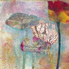 Floral Monotypes Series 2-2 | Carol's Originals