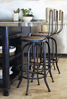 Industrial Bar Stool. A Block and Chisel Product. R2495.00