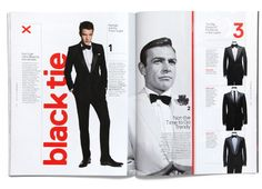 GQ Style Manual by Triboro design NYC