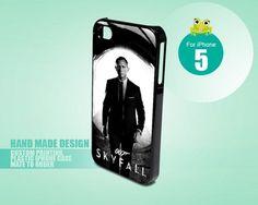 James Bond Skyfall 5 - iPhone 5 black case