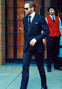 Chris Pine #suitporn