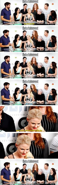 Jennifer and Colin #OUAT #SDCC2015 #11 july 2015. IS THAT....OH MY GOSH.........GRAHAM IS IN THIS PICTURE! Graham what the heck, you have no right to be with them for SDCC. You were in nine episodes. Get out.