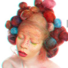The days feeling like a blur? Check out the #Hair Upload of the Day by Ope Smade on #Bangstyle. #Beauty Avant Garde Hair, How To Style Bangs, Hair Brained, Wild Style, Hair Transformation, Hair Art, Feel Like, Up Hairstyles, Blur