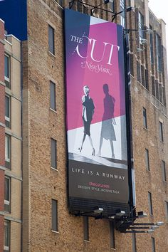 thecut.com Launch Billboards by Jeremiah Boncha, via Behance
