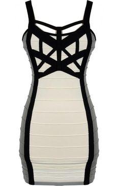 :DDD love this Widow Bandage Dress