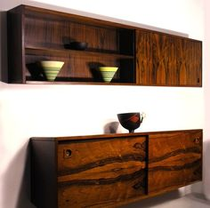 Robert Heritage Archie Shine wall cabinet rosewoosd
