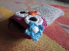 Virkkausta ja värkkäystä: Virkattu kännykkäkotelo Beanie, Purses, Crochet, Hats, Handbags, Hat, Beanies, Knit Crochet, Purses And Handbags