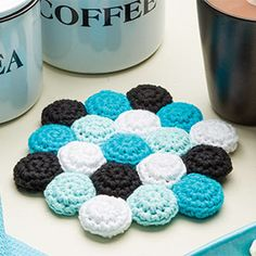 What the Hex Trivet - free featured pattern, downloadable .pdf for January 2015. Featured patterns change so grab it now.