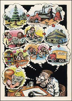 ..._Robert Crumb | Robert Crumb — Carload o' Comics — back page — 1976