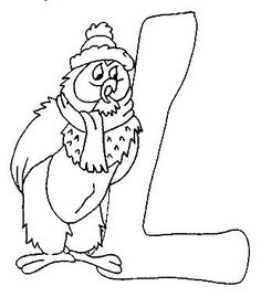 Coloring pages winnie the pooh alphabet 12