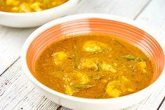Recette de curry de poisson au lait de coco au Thermomix TM31, Thermomix TM5 ou Thermomix TM6. Préparez ce plat principal en mode étape par étape comme sur votre Thermomix !