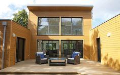 Maison Toit Plat Avec Patio En U Maison Moderne Toit Plat, Maison Avec Patio ,