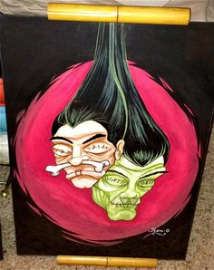 Tiki Shrunken Heads by Shane O'Brien
