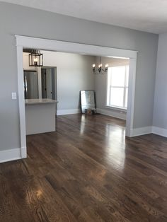 Home Decor Ideas For 3 Room Flat Case opening.Home Decor Ideas For 3 Room Flat Case opening. Estilo Craftsman, Craftsman Trim, Craftsman Interior, Craftsman Style, Grey Walls Living Room, Living Room Decor, Living Room Remodel, Floor Colors, House Colors