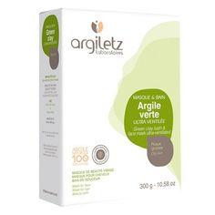 argiletz argile verte ultra ventile pour vos masques de beaut visage ou cheveux - Masque Argile Cheveux Colors
