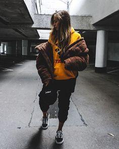 Light Before Dark Brown Teddy Puffer Jacket | Urban Outfitters | Women's | Coats & Jackets via @paladess #UOEurope #UrbanOutfittersEU #UOonYou