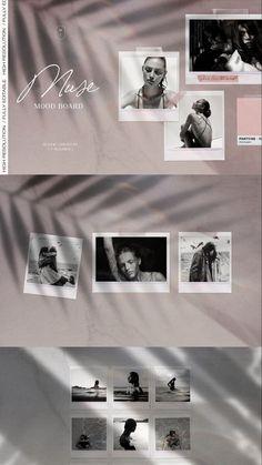 Kit de molduras polaroid para fotos: crie mood board realistas com fotos polaroid e elementos criativos para colagens e mood board; faça colagens criativas com polaroids e outros elementos do kit criador de mood board realista. // #polaroid #moodboardaesthetic #colagem #mockupdesign