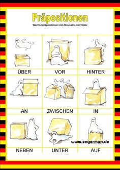 Study German, German English, Learn German, Learn French, German Grammar, German Words, Akkusativ Deutsch, German Resources, Deutsch Language