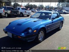 datsun 2+2 | 1982 Datsun 280ZX 2+2 Coupe in Blue Metallic. Click to see large photo ...